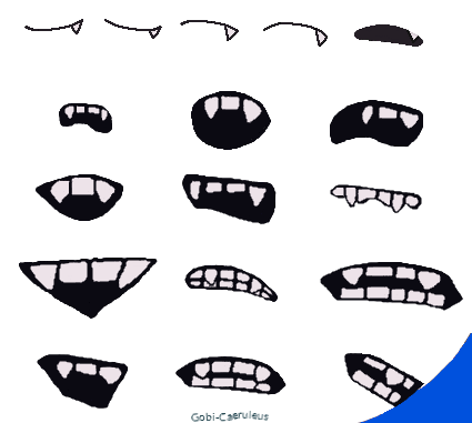 Free for use: South Park Fanged Mouth Template by Gobi-Akutoku on ...