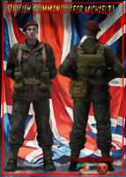 british commando, daz3d poser pro by jibicoco