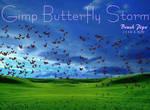 Gimp Butterfly Storm