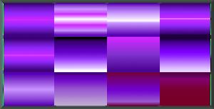 Gimp Purple Gradients