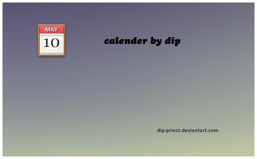 calender by dip by dip-priest
