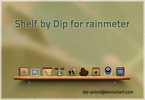 Shelf by dip by dip-priest