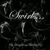 Sparkle Swirl Brushes by HarryGinnyMustLiveOn