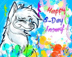 Happy B-Day to me! by Sn0wyAnGel