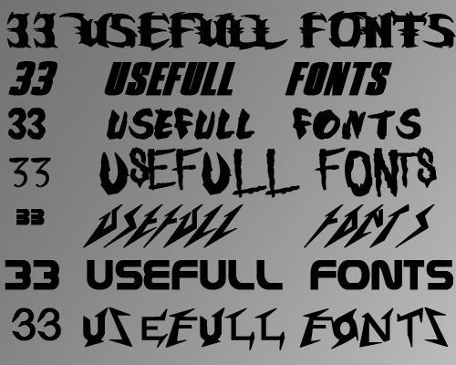 http://fc09.deviantart.net/fs71/i/2010/031/5/1/33_Usefull_fonts_by_Seany225.jpg