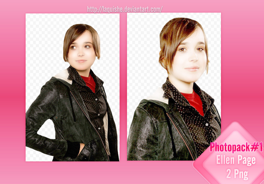 Photopack#1 Ellen Page by Laquishe