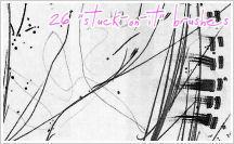 Brushes: STUCK-ON-IT by fernnifer