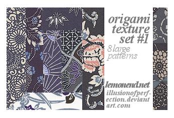 Origami Pattern _8textures by fernnifer