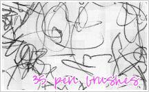 Brushes:  BALLPOINT PEN by JG-Starick