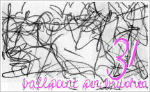 Brushes: BALLPOINT PEN 2 by JG-Starick