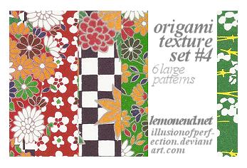 Origami Pattern 4 _6textures by fernnifer