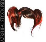 darkred_pigtails_hair