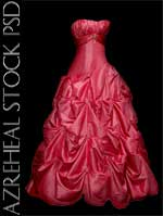 hotpink_dress by azreheal