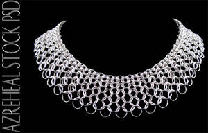 mesh_necklace by azreheal