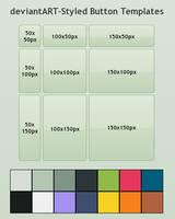 dA Style Buttons by SparkLum