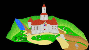 Peach's Castle (Stage DL)