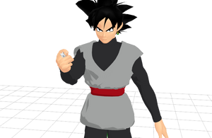 Goku Black (with new Earring and Ring) (Model DL)
