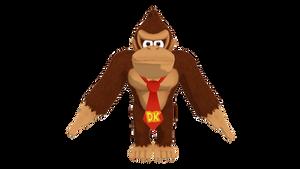 (MMD/SMP) Donkey Kong (Model DL)