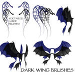 Dark Wing Brushes