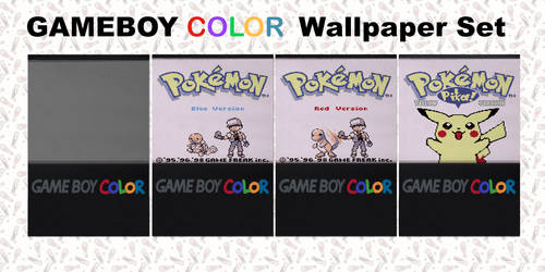 Gameboy Color Wallpaper Set for Ipod/Iphone
