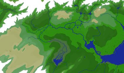 Chronological Map of Hyrule by djinn327
