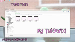 Tema Iconpackager Heart love