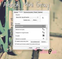 Cursor Albook Mini Gray by TutosPixi