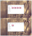 Tema Iconpackager Rosa