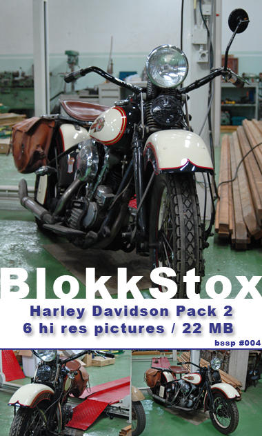 Harley Davidson Stockpack 2 by BlokkStox
