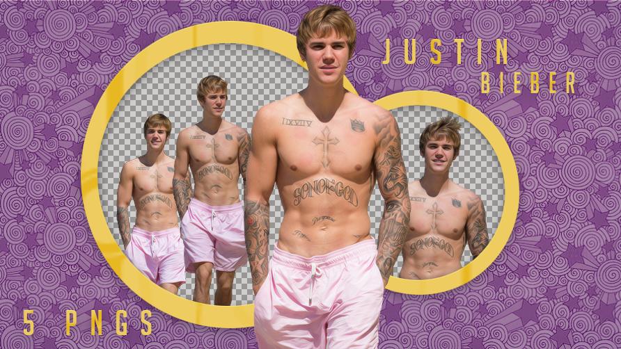 Justin Bieber Shirtless Barbados Png Pack By Amberbey On Deviantart