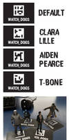 Watch Dogs Augmented Reality Cards