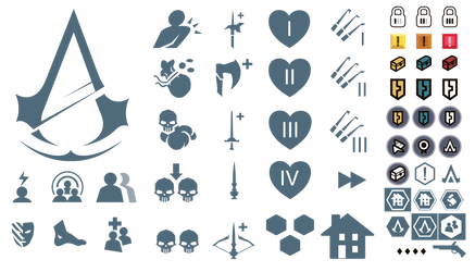 Assassin's Creed Unity: In-Game Icons