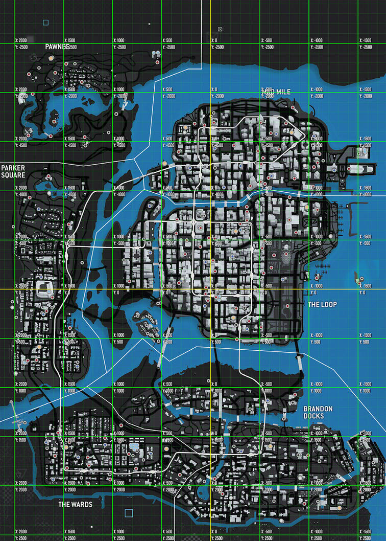 Watch Dogs  Co Ordinates