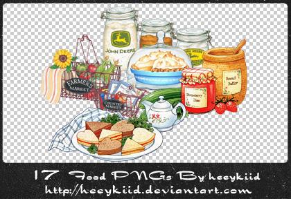 17_Food_PNGs_By_heeykiid by heeykiid