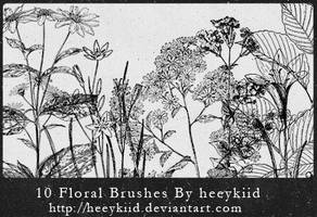 10_Floral_Brushes_By_heeykiid by heeykiid