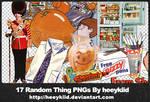 17_Random_Thing_PNGs_By_heykid