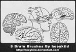8 Brain Brushes By heeykiid