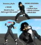 Asuka Kazama - Persona 5 Style XPS DOWNLOAD by LarsJunFan