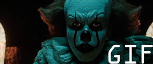 IT 2017 PennyWise Jumpscare! (GIF CODE)