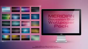 FREE Meridian Graphic Gaussian Blur Wallpaper Pack