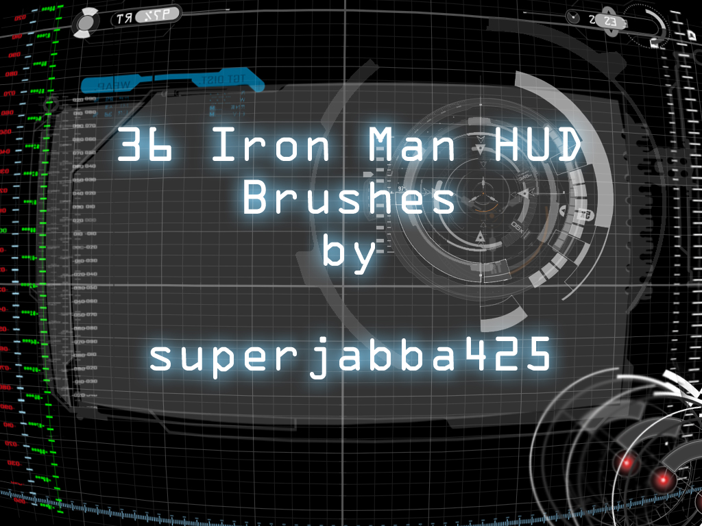 Hud brushes photoshop