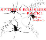 Spiders brushes PACK 1