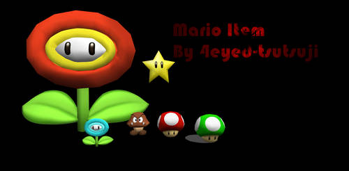 MMD- Mario item pack~ DOWNLOAD by Mami-Tom0e