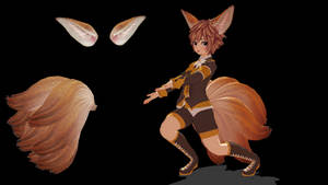 [MMD] Blade And Soul Lyn Tail and Ears DOWNLOAD