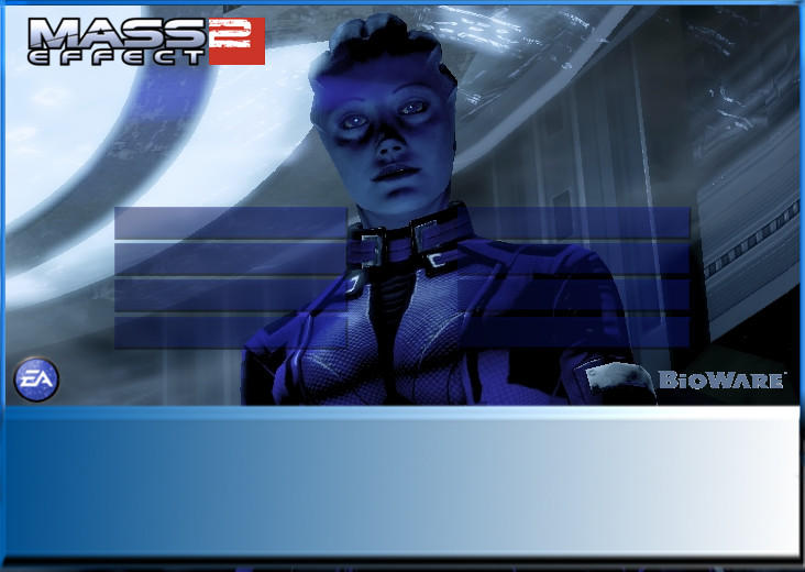 Liara launcher pack for Mass Effect 2 by HieronimusLex on