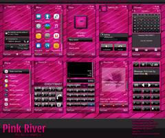 Pink river