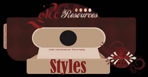 Plaquinha - Tex Styles