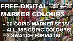 All 358 COPIC Digital Marker Colours.ASE/.ACO/.GPL