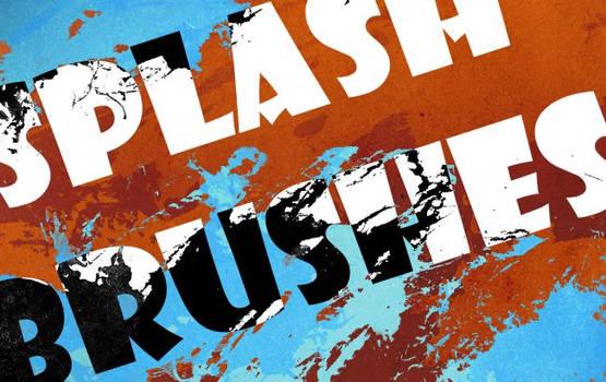 Splash brushes