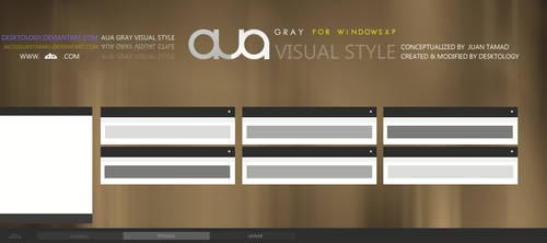 AuA gray Visual style